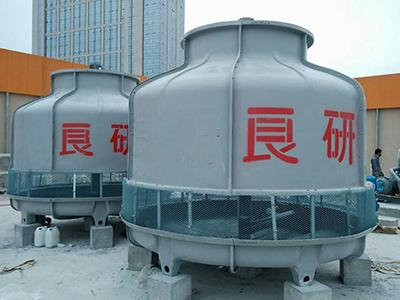 Counterflow Cooling Tower (Round FRP Open Circuit Cooling Tower)